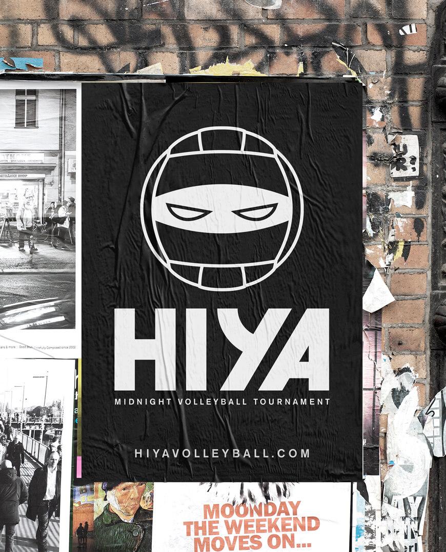 hiya-volleyball-urban-poster