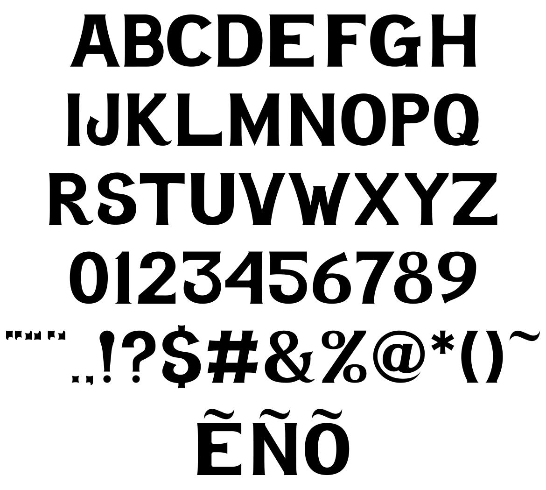 jefes-hammer-font